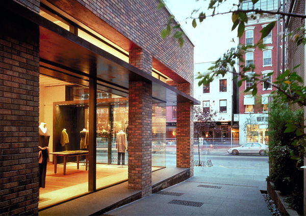 Eileen Fisher Soho Store Cdr Studio